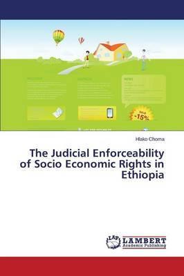 The Judicial Enforceability of Socio Economic Rights in Ethiopia