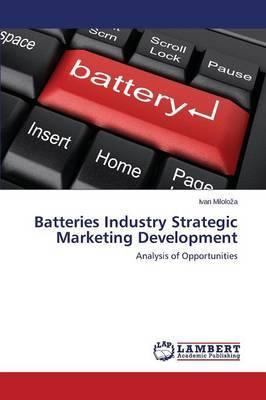 Batteries Industry Strategic Marketing Development