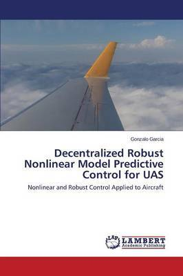 Decentralized Robust Nonlinear Model Predictive Control for Uas