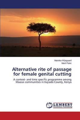 Alternative Rite of Passage for Female Genital Cutting