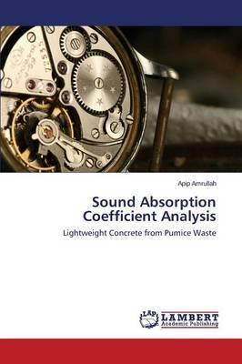 Sound Absorption Coefficient Analysis