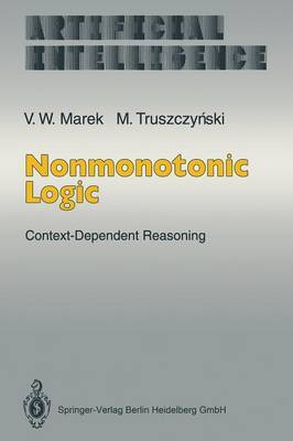 Nonmonotonic Logic: Context-dependent Reasoning