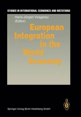 European Integration in the World Economy