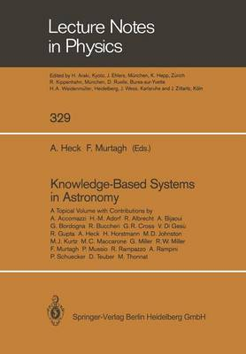 Knowledge-Based Systems in Astronomy