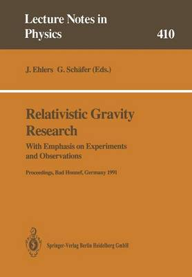 Relativistic Gravity Research: With Emphasis on Experiments and Observations