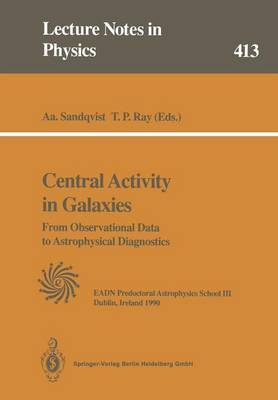 Central Activity in Galaxies: From Observational Data to Astrophysical Diagnostics
