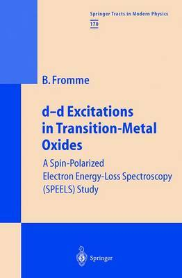 d-d Excitations in Transition-Metal Oxides: A Spin-Polarized Electron Energy-Loss Spectroscopy (SPEELS) Study