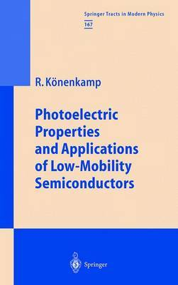 Photoelectric Properties and Applications of Low-Mobility Semiconductors