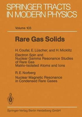Rare Gas Solids