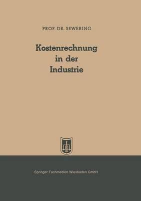 Kostenrechnung in Der Industrie