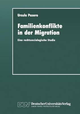 Familienkonflikte in Der Migration: Eine Rechtssoziologische Studie Anhand Von Gerichtsakten