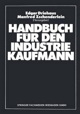 Handbuch Fur Den Industriekaufmann