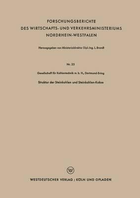 Struktur Der Steinkohlen Und Steinkohlen-Kokse