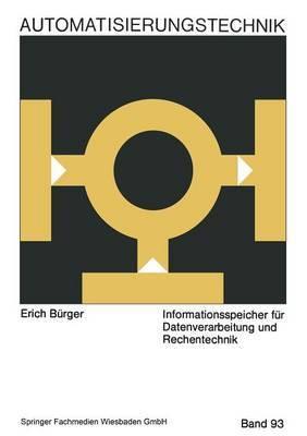 Informationsspeicher Fur Datenverarbeitung Und Rechentechnik