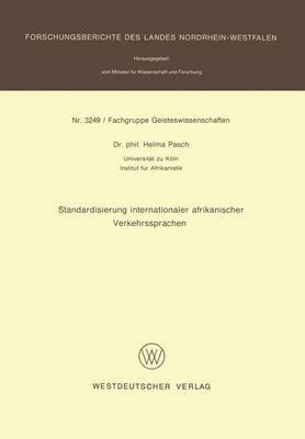 Standardisierung Internationaler Afrikanischer Verkehrssprachen