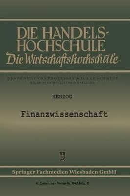 Finanzwissenschaft