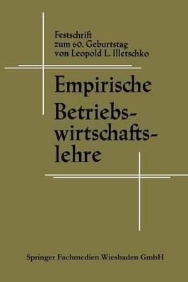 Empirische Betriebswirtschaftslehre