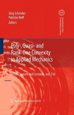 Poly-, Quasi- and Rank-One Convexity in Applied Mechanics