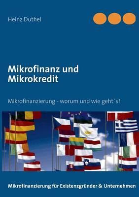 Mikrofinanz Und Mikrokredit