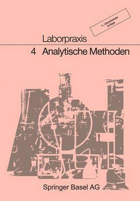 Laborpraxis: 4 Analytische Methoden