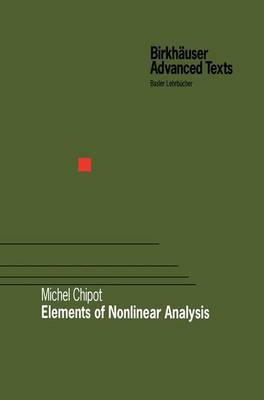 Elements of Nonlinear Analysis