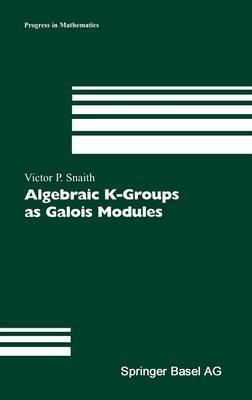 Algebraic K-Groups as Galois Modules