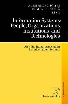 Information Systems: ITAIS: the Italian Association for Information Systems