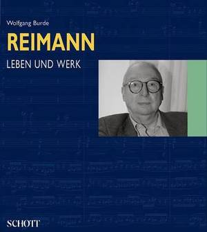 Aribert Reimann Leben Und Werk (German Text)