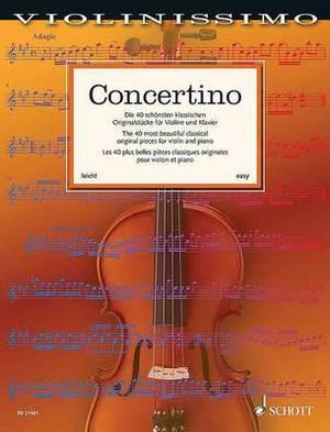 Concertino: Violin and Piano