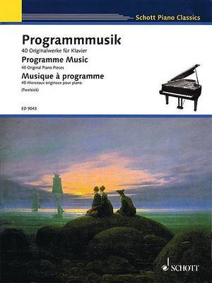 Program Music: 40 Original Piano Pieces