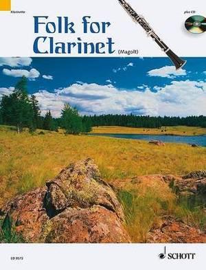 Folk for Clarinet: For 1-2 Clarinets