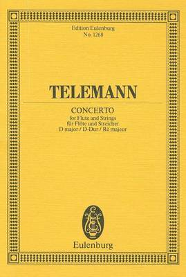 Telemann: Concerto: For Flute and Strings