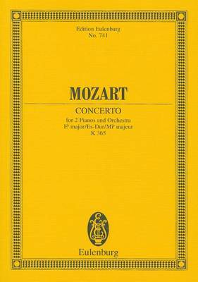 Mozart: Concerto for 2 Pianos and Orchestra, E-Flat Major/Es-Dur/Mi-B Majeur, K 365