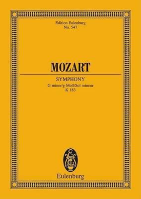 Symphony No. 25 in G Minor, K. 183: Study Score