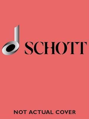 Concerto in D Minor, Bwv 1043: Study Score