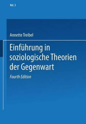 Einfuhrung in Soziologische Theorien Der Gegenwart