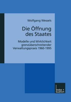 Die Offnung Des Staates: Modelle Und Wirklichkeit Grenzuberschreitender Verwaltungspraxis 1960 1995