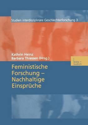 Feministische Forschung Nachhaltige Einspruche
