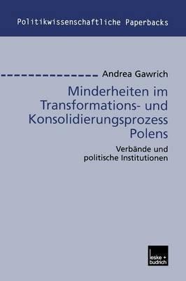 Minderheiten Im Transformations- Und Konsolidierungsprozess Polens: Verbande Und Politische Institutionen