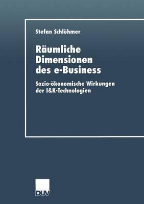 Raumliche Dimensionen Des E-Business: Sozio-Okonomische Wirkungen Der I&k-Technologien