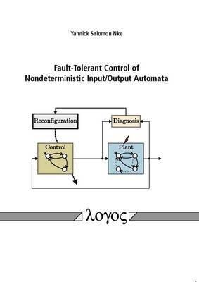Fault-Tolerant Control of Nondeterministic Input/Output Automata