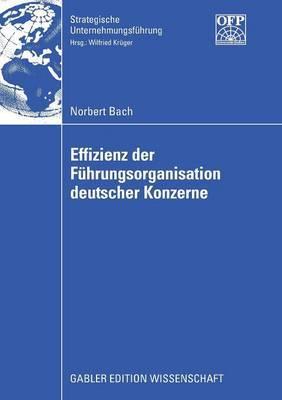 Effizienz Der Fuhrungsorganisation Deutscher Konzerne