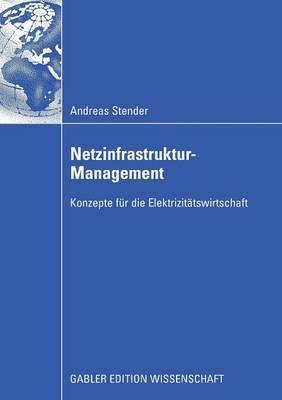 Netzinfrastruktur-Management: Konzepte Fur Die Elektrizitatswirtschaft