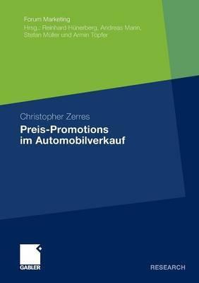 Preis-Promotions Im Automobilverkauf