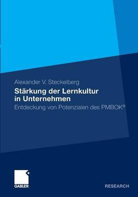 Starkung Der Lernkultur in Unternehmen: Entdeckung Von Potenzialen Des Pmbok(r)