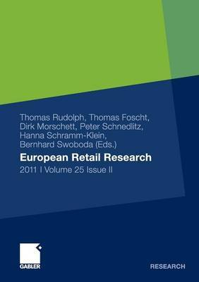 European Retail Research 2011, Volume 25 Issue II