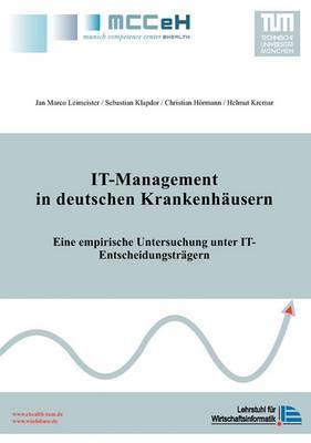 It-Management in Deutschen Krankenhausern