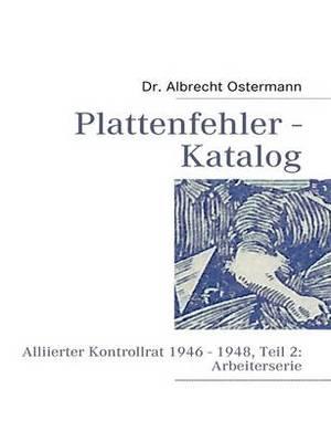 Plattenfehler - Katalog