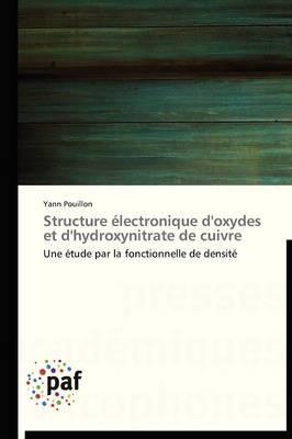 Structure Electronique D'Oxydes Et D'Hydroxynitrate de Cuivre