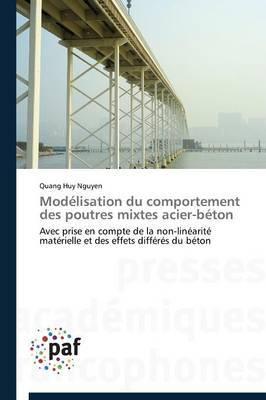 Modelisation Du Comportement Des Poutres Mixtes Acier-Beton